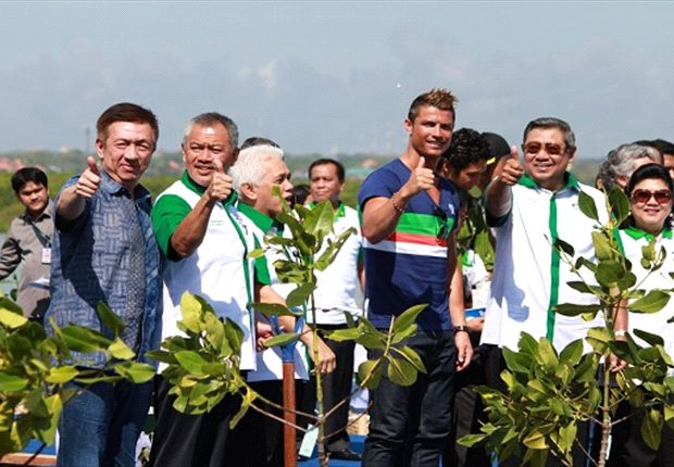 Facts about Mangroves and Cristiano Ronaldo in Teluk Benoa