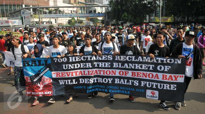 save the mangrove forest and Teluk Benoa