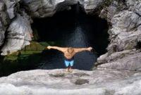 Cliff Dive Extreme Adventure in Brontallo, Switzerland