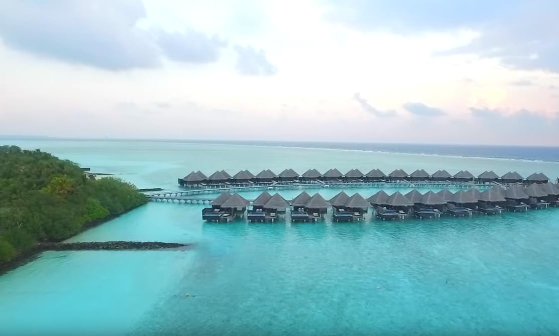 Maldives are the snorkeling honeymoon locations