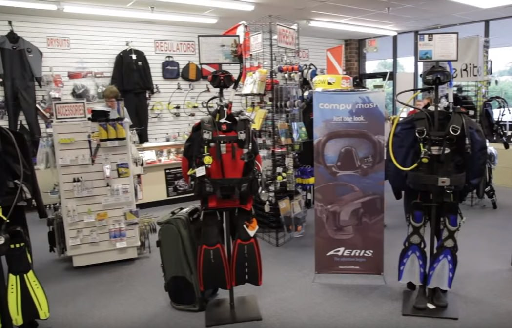 Scuba Diving Certification Milwaukee Store