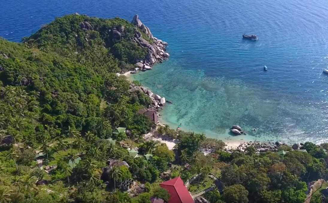 scuba diving best places also include Koh Tao in Thailand