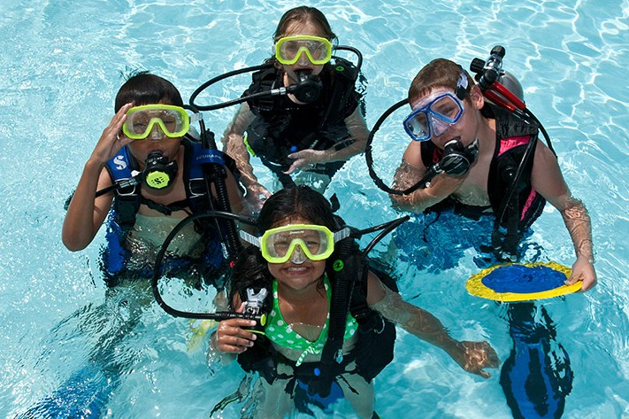 Pool Class Scuba Diving Certification Chicago