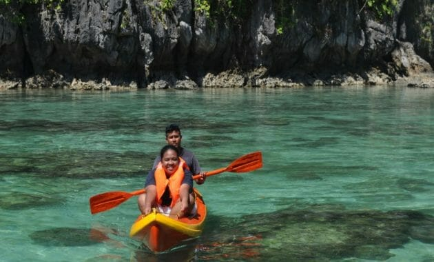 Kayaking Big Lagoon Trinidad California Usa