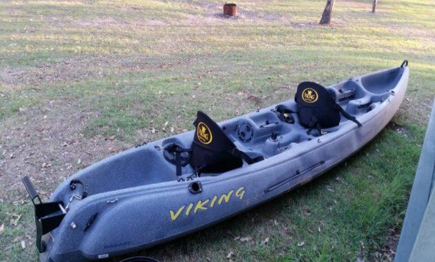Viking Tempo Fisherman 2 Seater Fishing Kayak With A 2.3Hp Honda