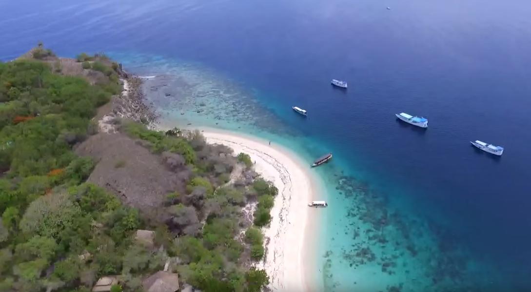 Bidadari Island at Flores Liveboard