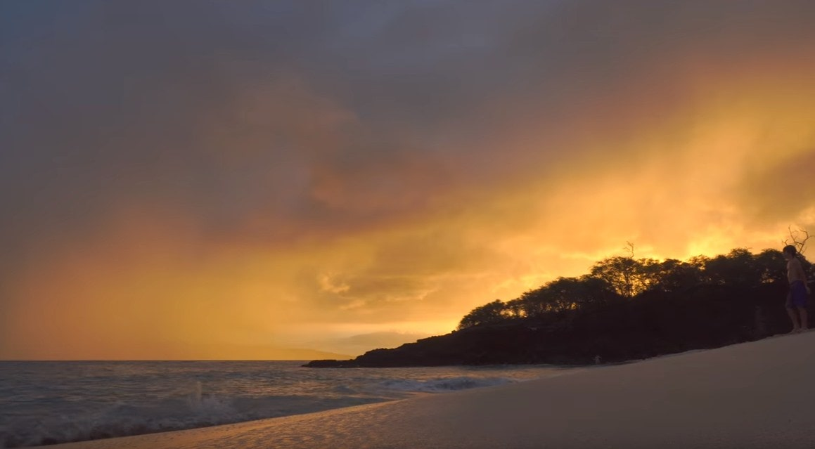 maui the best island in hawaii, sunset beach picture-min