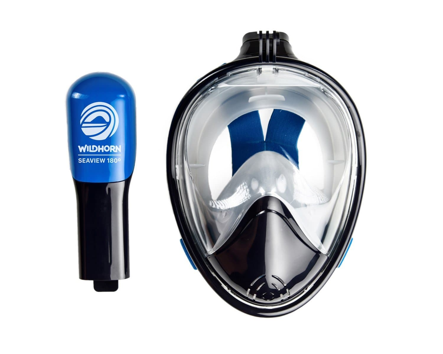 snorkel goggles with nose cover-min