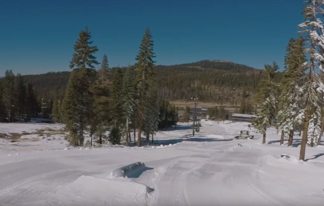 Skiing, snowboarding or just playing snow on the Boreal mountain