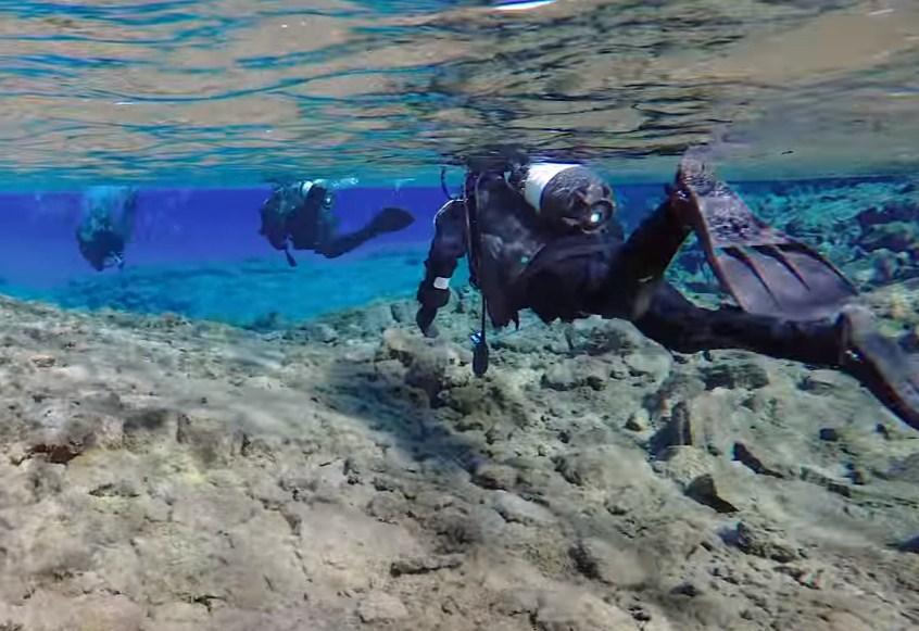 iceland scuba diving silfra,scuba dive iceland,