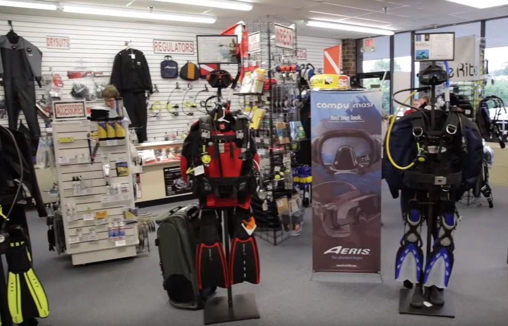 Scuba Diving Certification Milwaukee Store