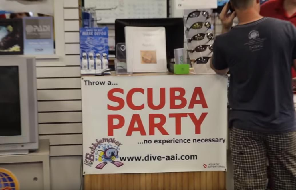 Scuba Party Milwaukee PADI Rescue Diver and Beginners