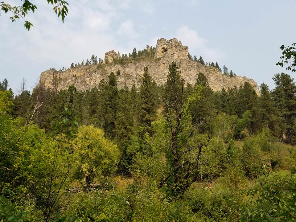 Spearfish Canyon Lodge Climb