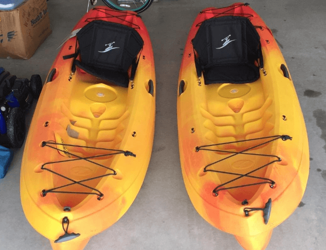 ocean kayak frenzy reviews